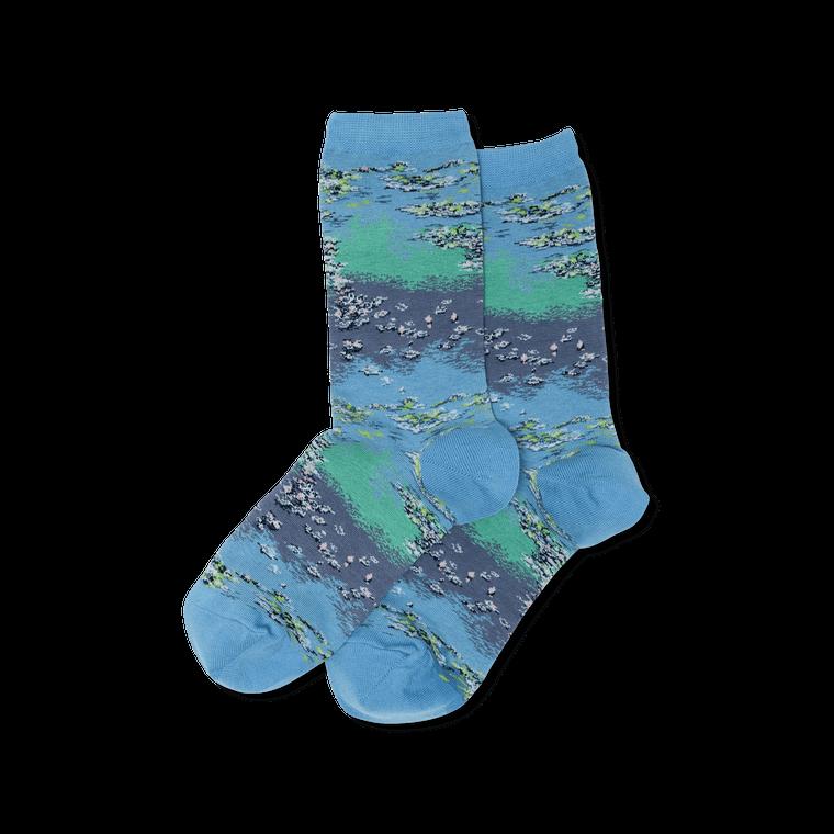 """Women's Monet """"Waterlilies"""" Socks"""