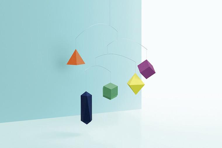 Colorful Polygon Mobile