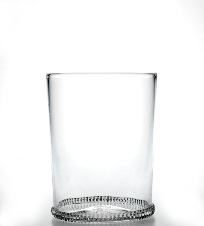 Clear Zipper Glass