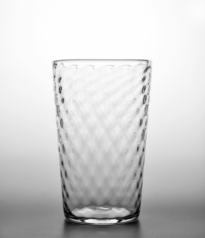 Clear Pineapple Glass