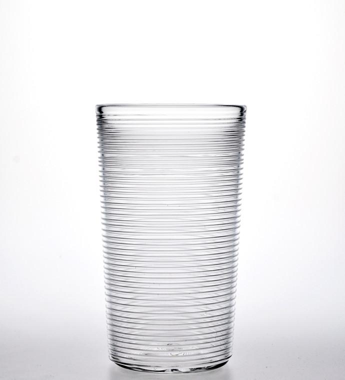 Clear Threader Water Glass