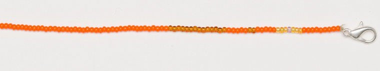 Mask Lanyard Necklace in Coral Reef