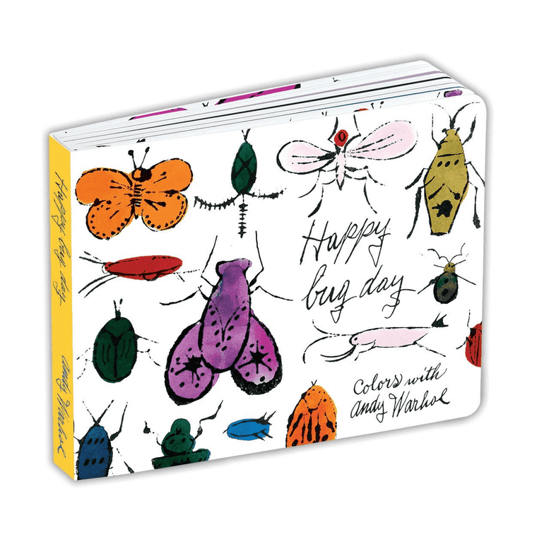 A bookcover with drawings of various bugs.