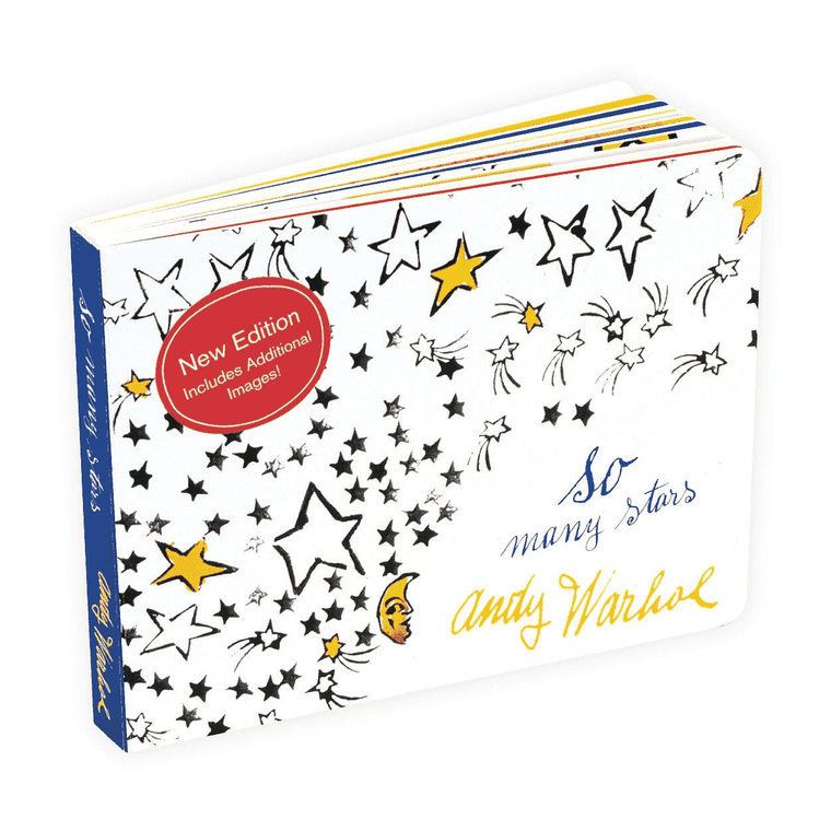"A white book cover with drawings of stars, and the title ""So Many Stars""."