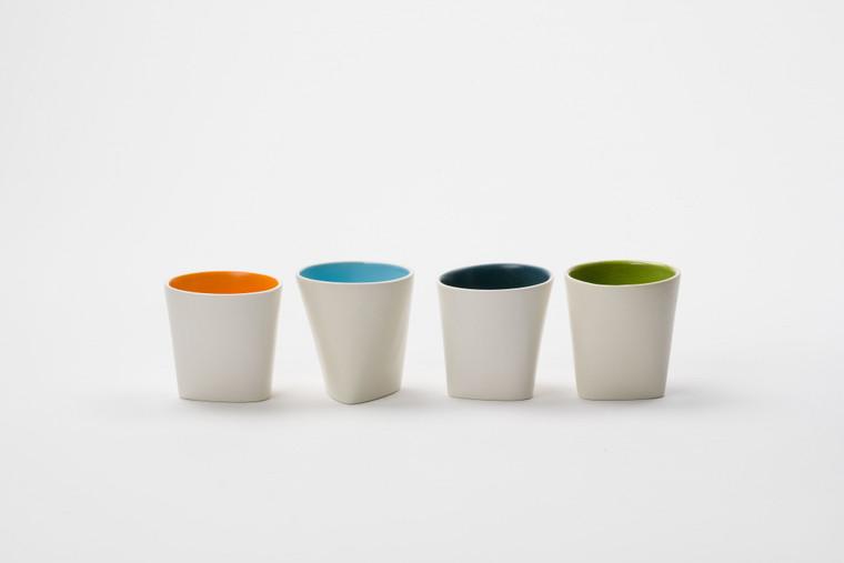 Slip Cast Porcelain Tumblers