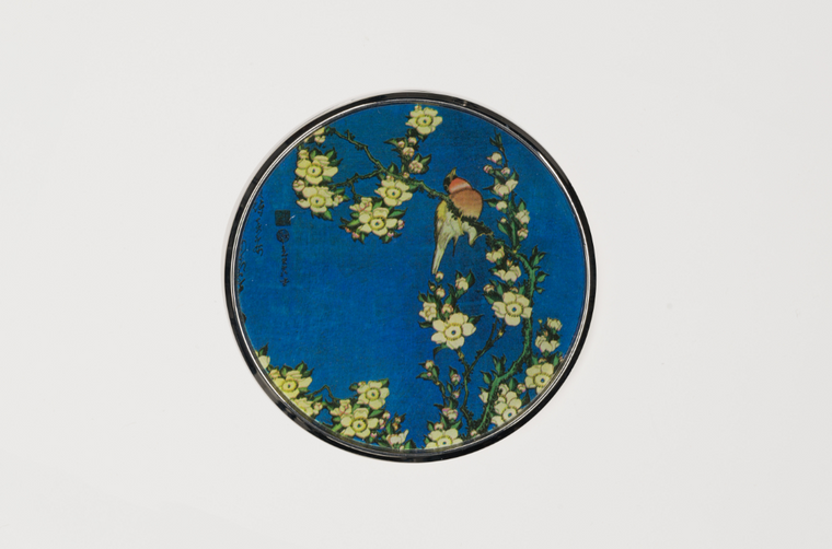Hokusai pocket mirror