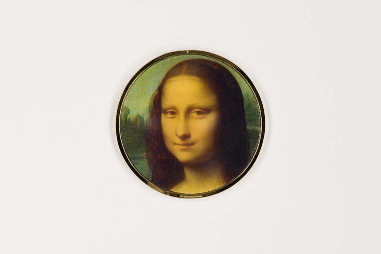 Mona Lisa pocket mirror