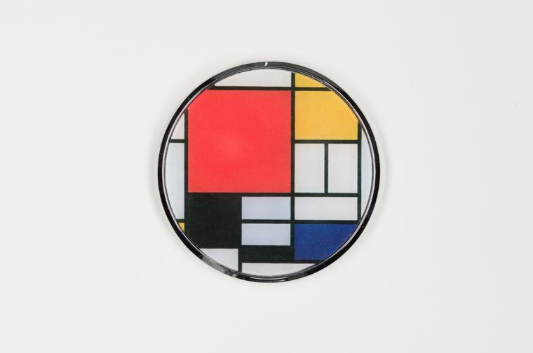 Mondrian pocket mirror