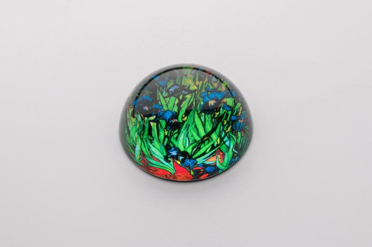 Van Gogh Irises Paperweight