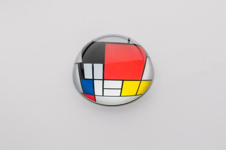 Mondrian paperweight