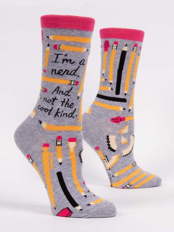 """""""I'm a Nerd"""" Women's Socks"""