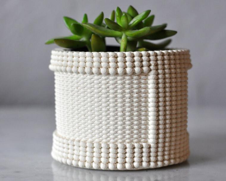 "Unglazed Ceramic Planter 4"""