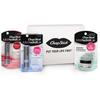 ChapStick® Beauty Lip Kit with Lip Scrub Fresh Peppermint, 100% Natural Soothing Vanilla and Moisture + Tint Merlot.