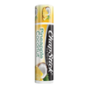 ChapStick® Pineapple Coconut lip balm in 0.12oz yellow & white tube.