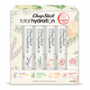 ChapStick® Essential Oils Lip Balm Gift Set with Energy, Happy, Relax and Peace Flavors lip balms.