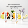 ChapStick® Essential Oils Lip Balm Gift Set with 100% naturally sourced formula infused with essential oils.