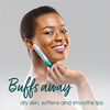 ChapStick® Sea Minerals Lip Exfoliator and Lip Moisturizer Buffs Away Dry Skin While Moisturizing.