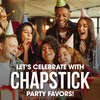 ChapStick® Happy Birthday Gift Pack is perfect for Birthday Parties.