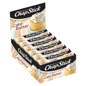 ChapStick® Fan Favorites Cake Batter  Skin Protectant Lip Balm (0.15 ounce, box of 12)
