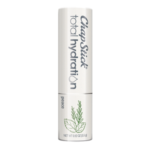ChapStick® Total Hydration Essential Oils Peace lip balm in white 0.15-ounce tube.