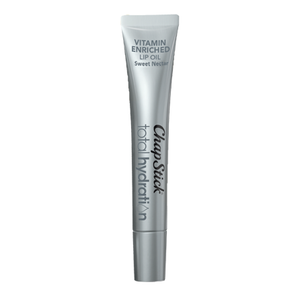 ChapStick® Total Hydration Vitamin Enriched Lip Oil Sweet Nectar lip balm in 0.23oz tube.