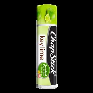 ChapStick® Tropical Paradise Key Lime lip balm in 0.12oz green tube.
