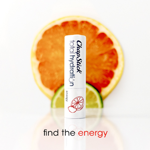 ChapStick® Total Hydration Essential Oils Energy lip balm with essence of lavender