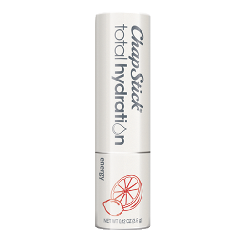 ChapStick® Total Hydration Essential Oils Energy lip balm in white 0.15-ounce