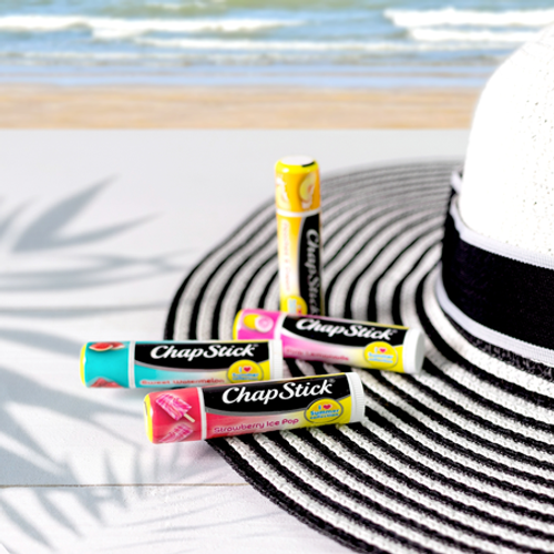 ChapStick® I Love Summer Collection Strawberry Ice Pop lip balm limited summer edition