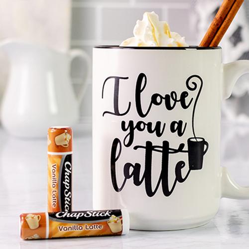 ChapStick® Vanilla Latte lip balm limited edition