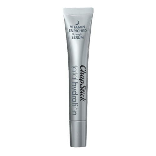 ChapStick® Total Hydration Vitamin Enriched Night Serum lip balm in 0.21oz tube