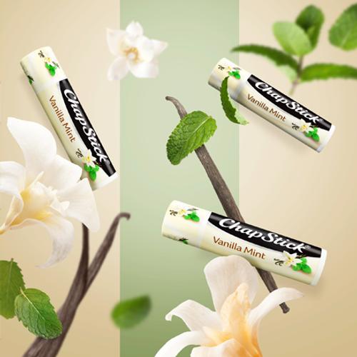 America's favorite lip balm in Vanilla Mint flavor.