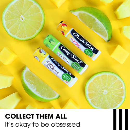 ChapStick® Tropical Paradise Key Lime lip balm limited summer edition