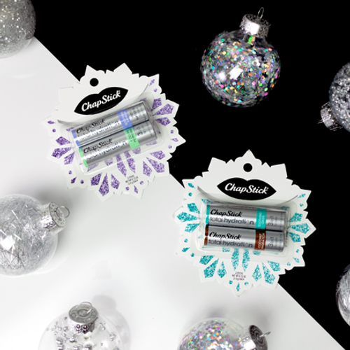 ChapStick® Total Hydration 3in1 Snowflake is perfect gift of healthy and beautiful lips this winter