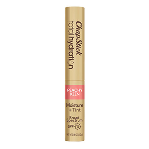 ChapStick Total Hydration Moisture Plus Tint with SPF 15 in Peachy Keen