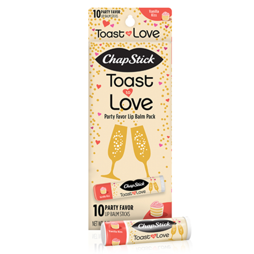 ChapStick® Toast of Love Lip Balm Gift Pack (0.15 ounce, box of 10).