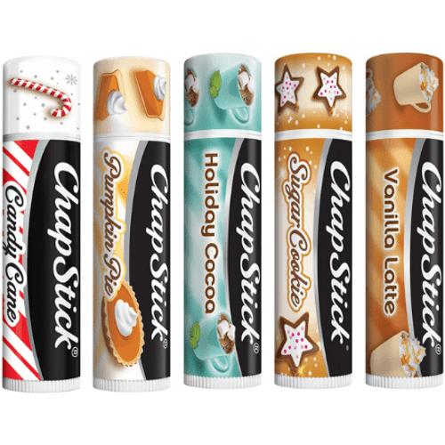Holiday Lip Balm Variety Pack, 5ct