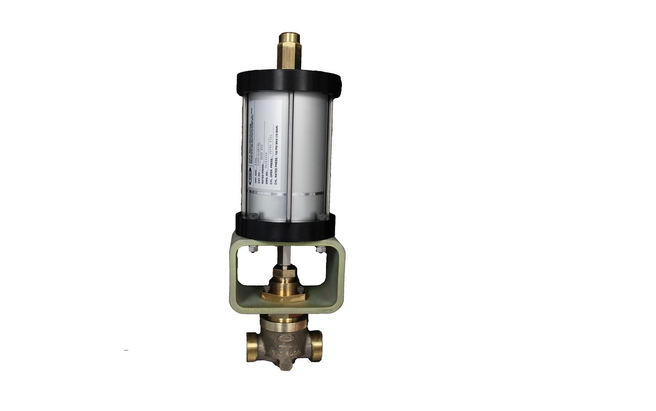 CPV 1380 1480 Series Pneumatically Actuated Valve