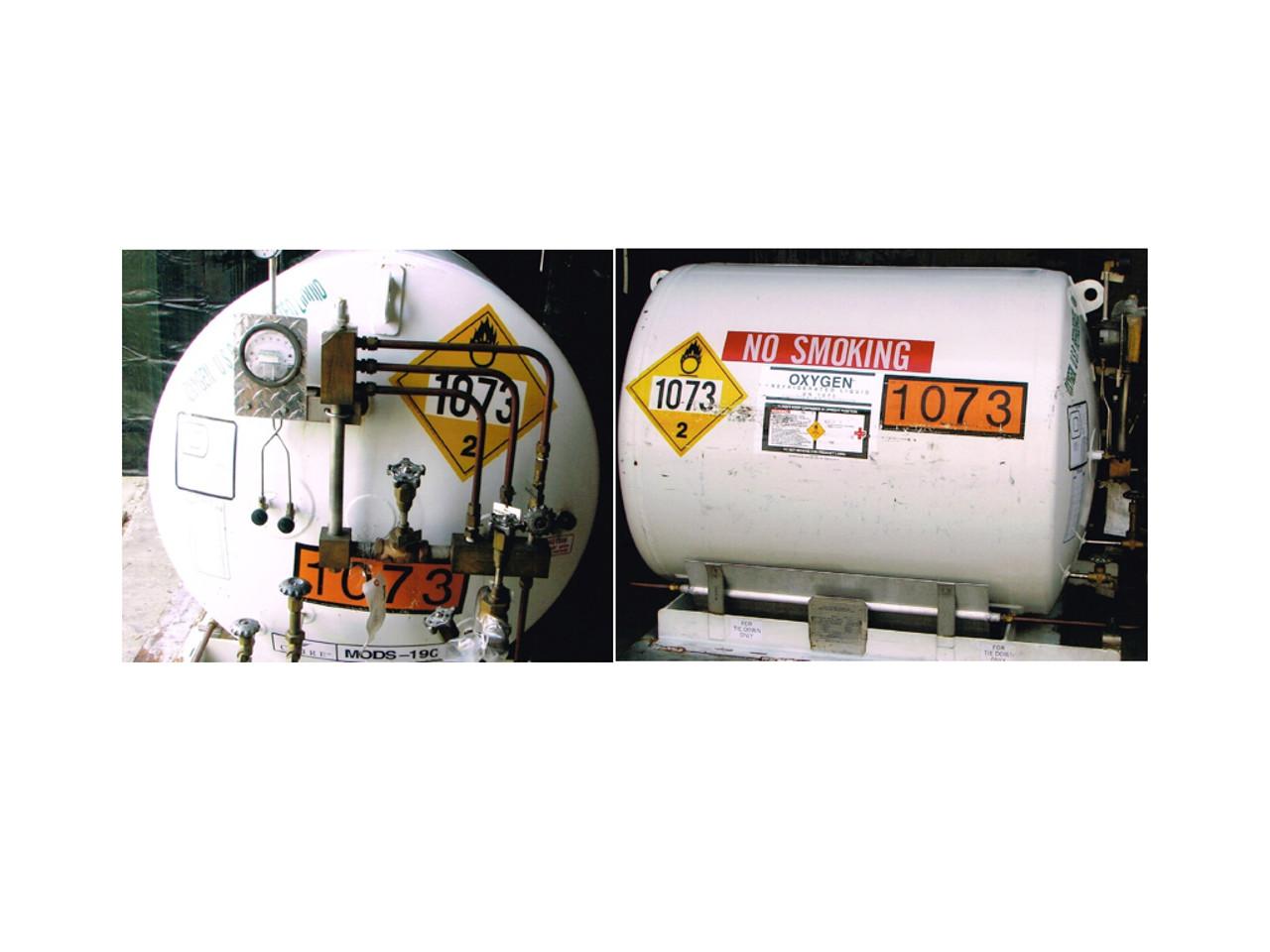 Liquid Oxygen Vessel HL190 16624