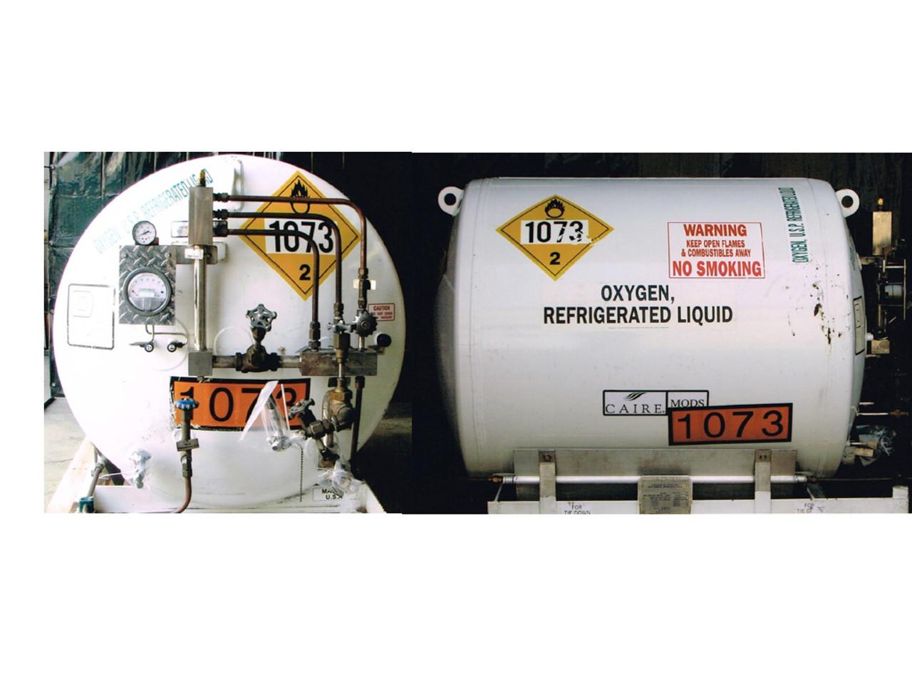 Chart HL 190 Liquid Oxygen Vessel - Refurbished