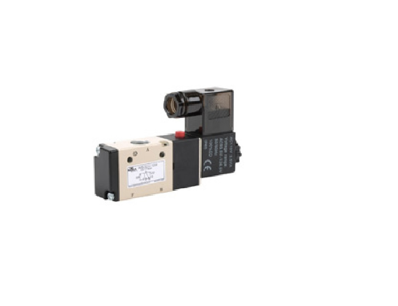 Solenoid Valve, 3-port (3-way), 2-position, N.C.