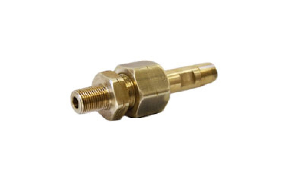 CGA-1350 Adapter with Nut and Tailpiece