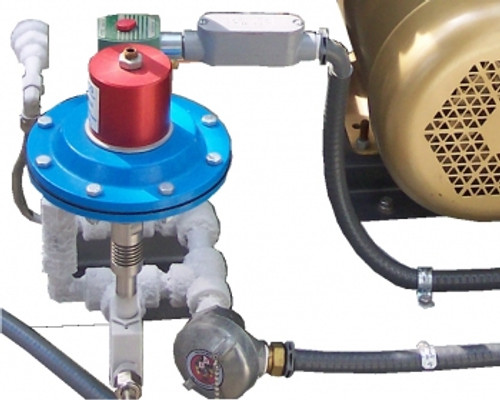 Cryogenic pump unloader kit, high pressure dump valve
