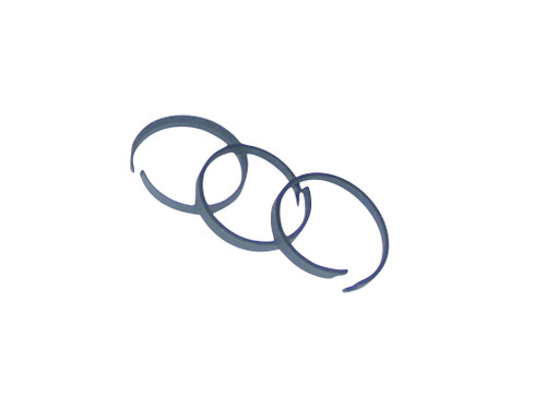 """Piston Rings for Cryochem and Woodland WCP pumps, 1.25"""" Piston, set of 3"""