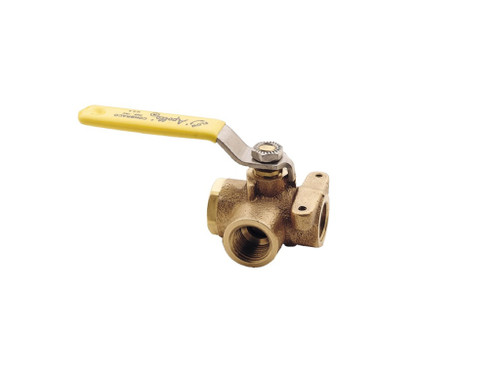 Apollo 3-way ball valve 70-605-01