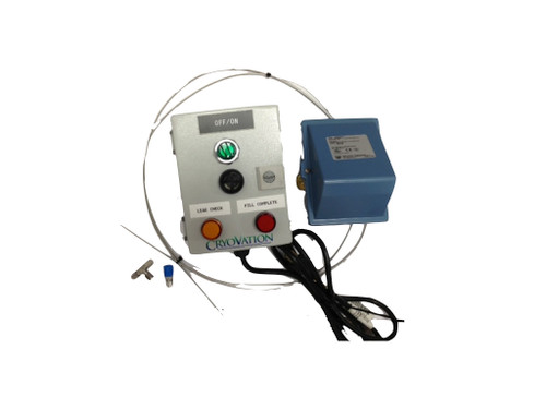 High Pressure Alarm Box with Dual pressure switch