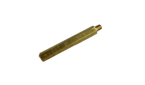 """Nipple, 1/4"""" MPT X 1/4"""" FPT X 6"""", 3000 PSI, Brass"""