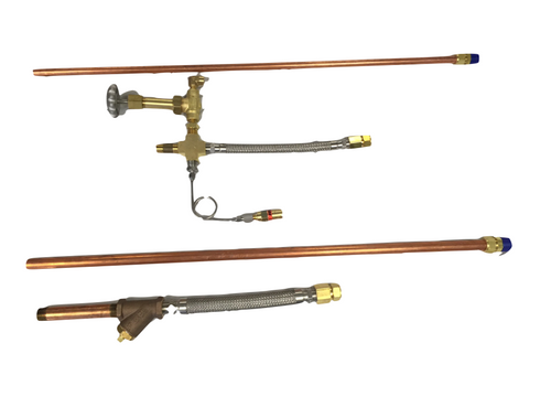 Pump Piping kit, cryogenic pump