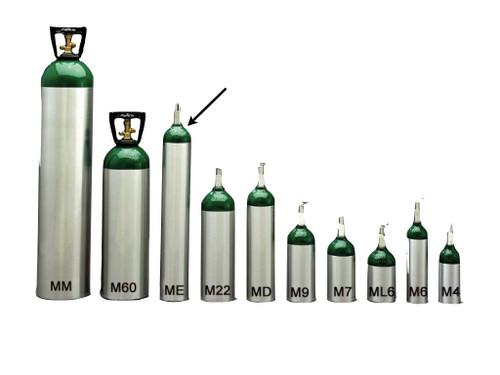 Medical E Cylinder