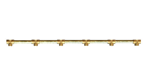 brazed brass manifold, high pressure